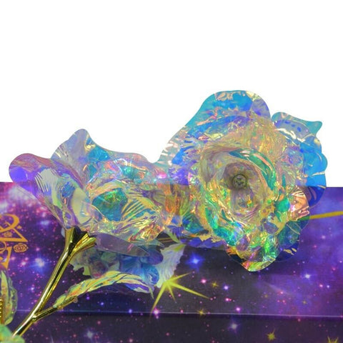 Romantic Galaxy Rose Flower