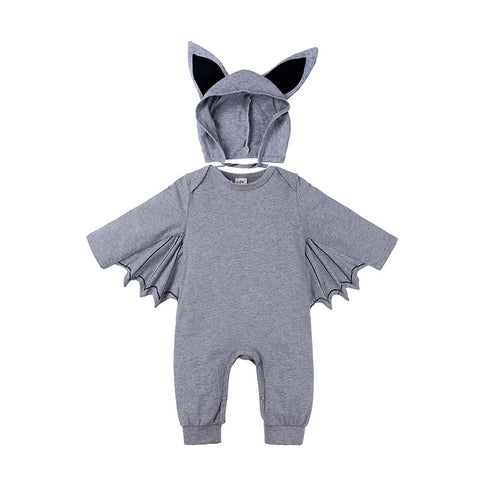 Image of Bat Baby Romper