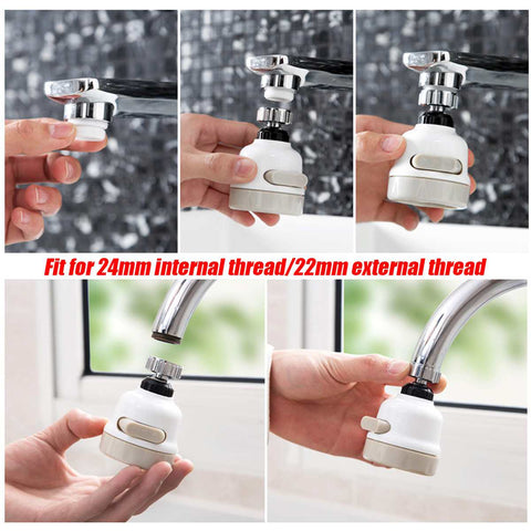 Powerful Moveable Kitchen Faucet Head
