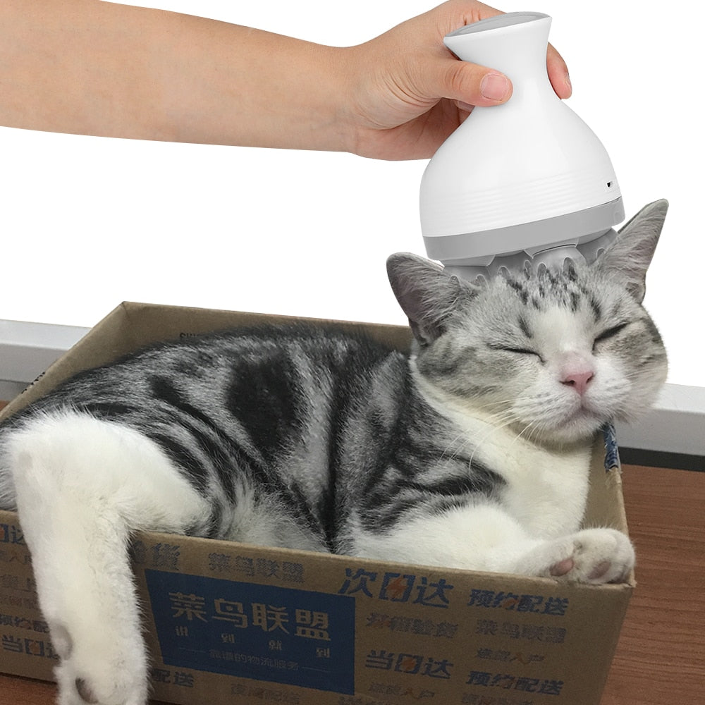 """Spoil Your Cat"" Portable Massager"
