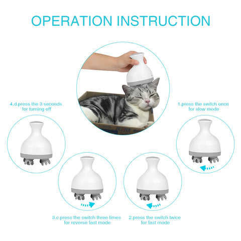 "Image of ""Spoil Your Cat"" Portable Massager"
