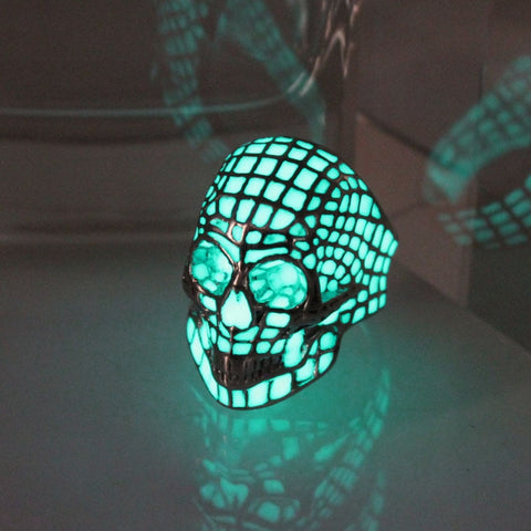 Image of Skull Glow Ring