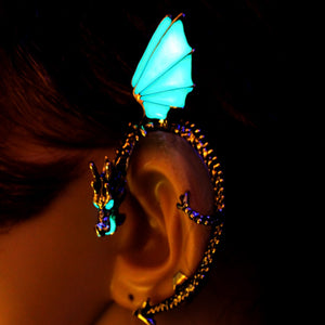 Glowing Dragon Whisperer Ear Cuff
