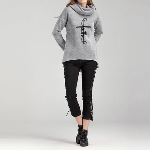 Image of Awesome Faith Neck Hoodie
