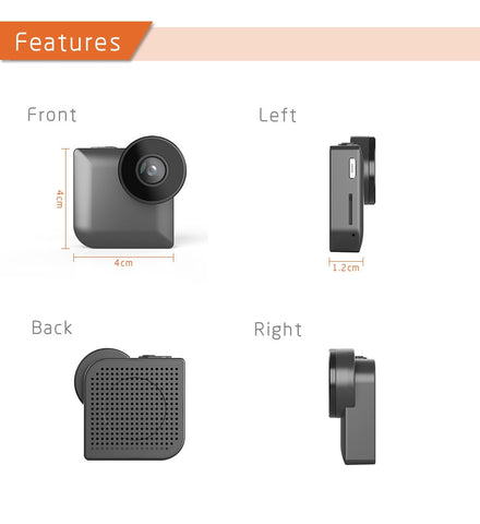 Mini Wearable Camera