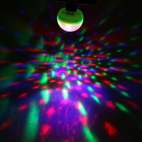 USB mini disco light that illuminates