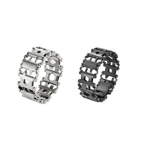 Image of 29 in 1 Stainless Steel Multitool Bracelet
