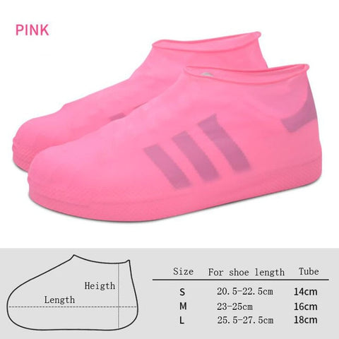 Image of silicone waterproof latex shoe cover