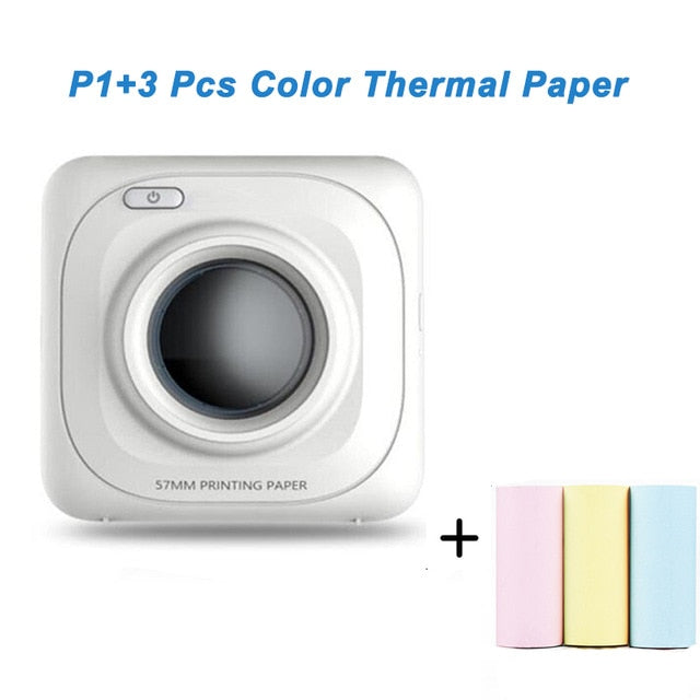 Portable Thermal Photo Printer