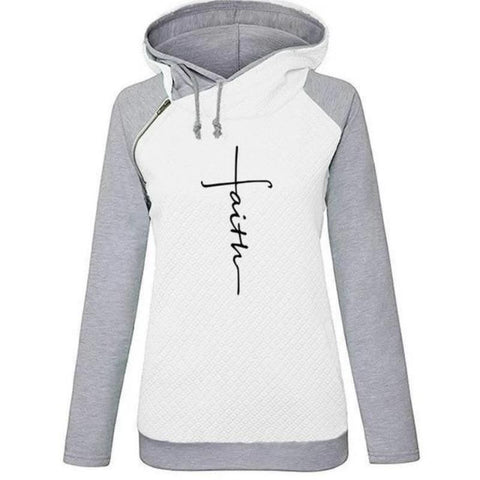 Image of Awesome Long Sleeve Faith Hoodie