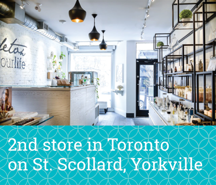 2nd store in Toronto on St. Scollard, Yorkville
