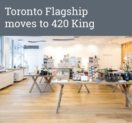 Toronto Flagship moves to 420 King