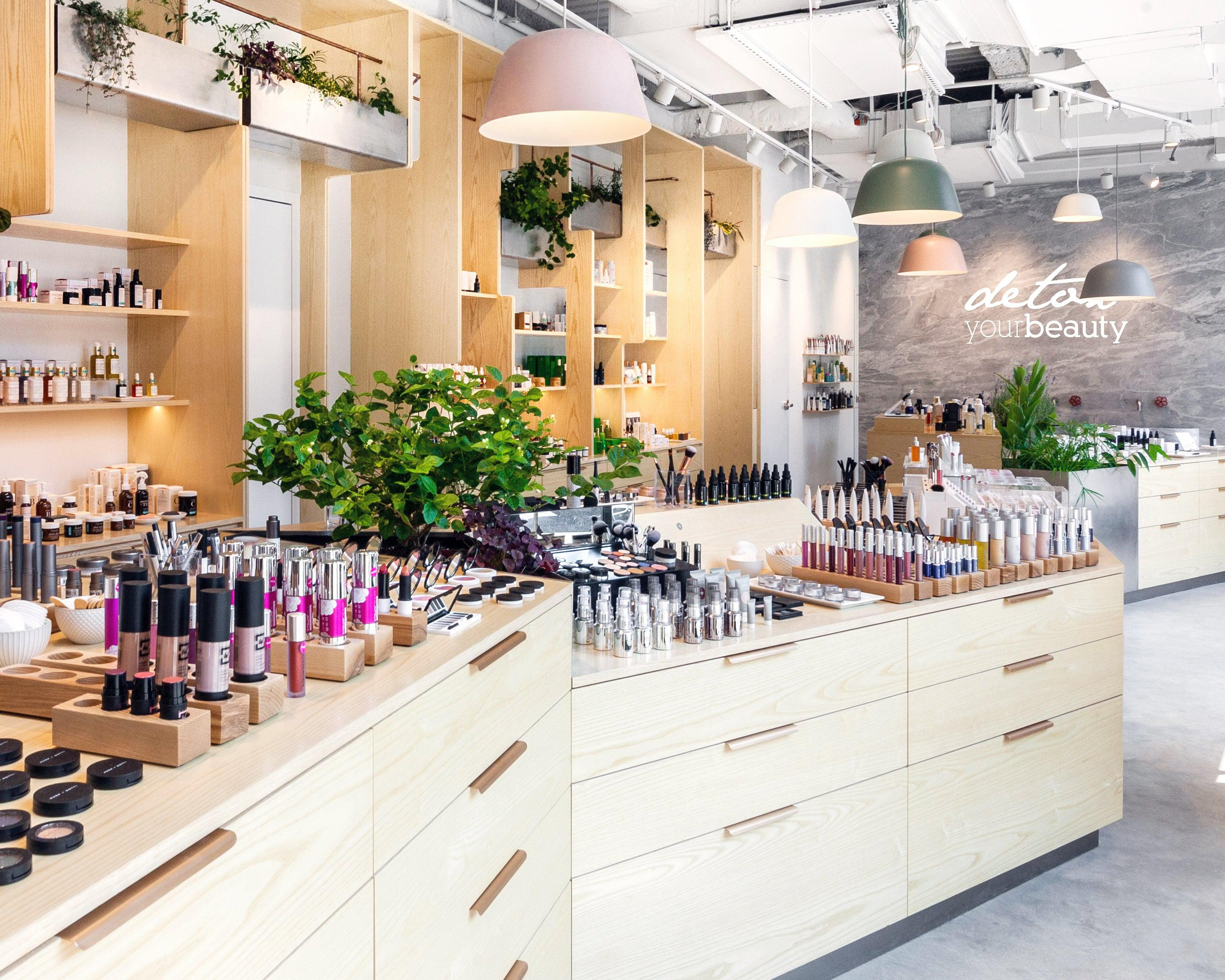 The Detox Market New York City Flagship Store for Green Beauty, Skincare, Makeup, and Wellness