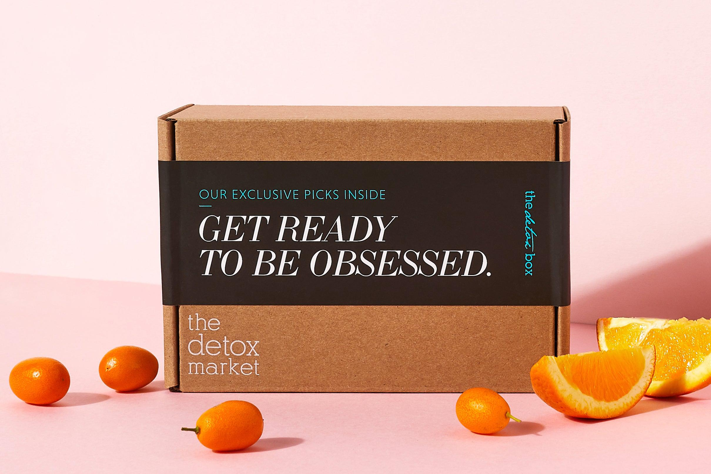 Get ready to be obsessed with clean beauty subscription, The Detox Box