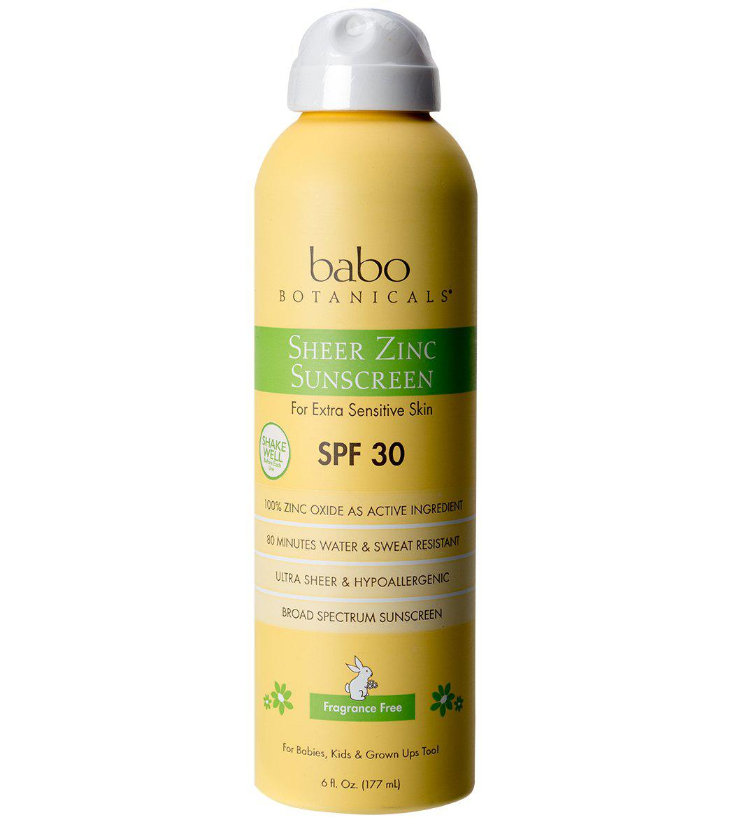 SPF 30 Sheer Zinc Continuous Spray Sunscreen