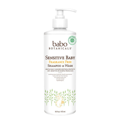 Sensitive Baby Fragrance Free Shampoo & Wash