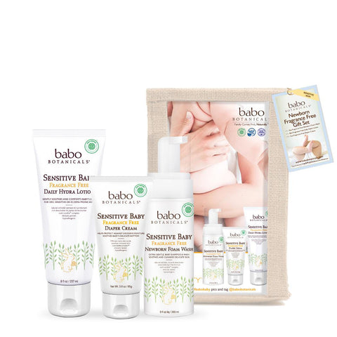 Sensitive Baby Fragrance Free Gift Set