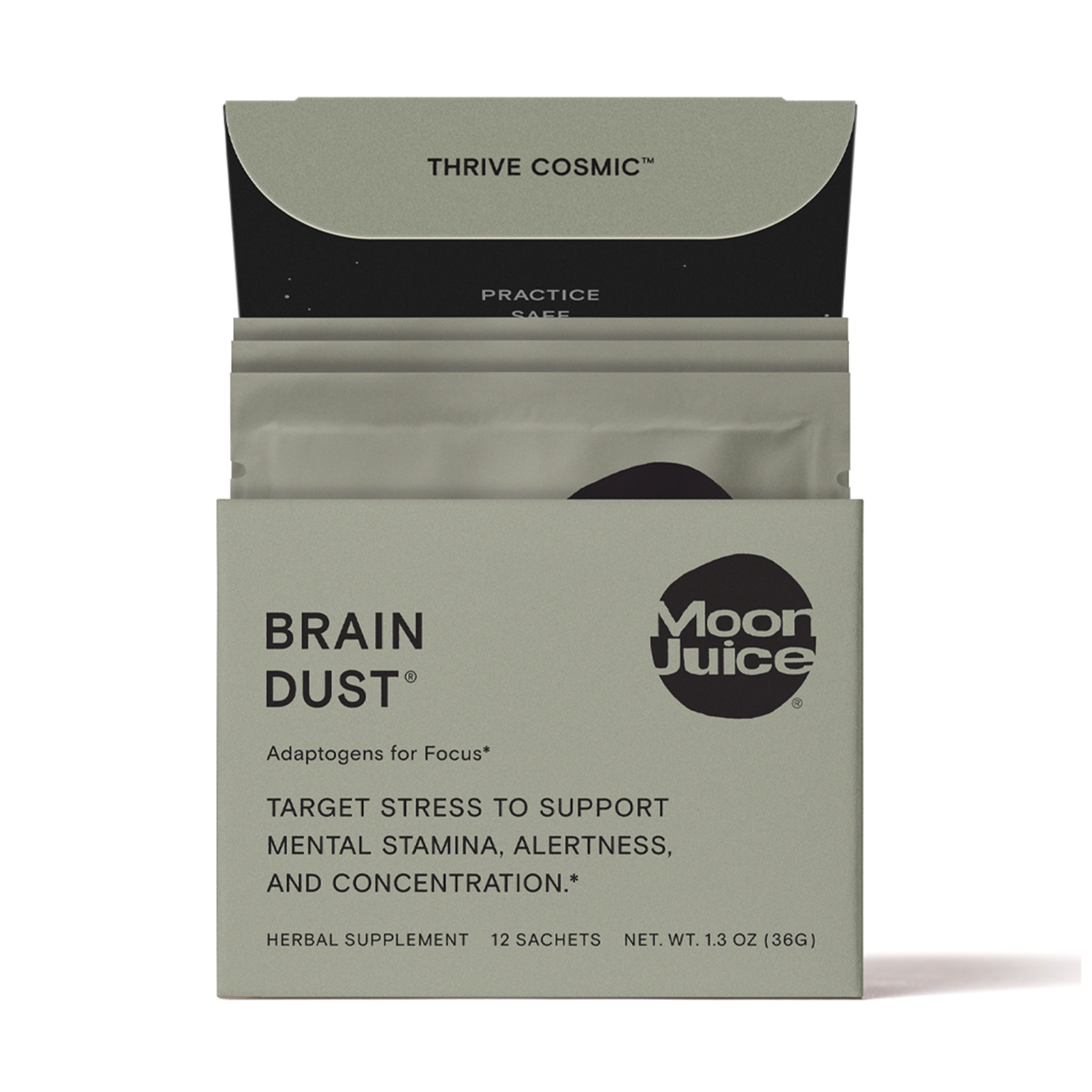 Brain Dust Sachet Box