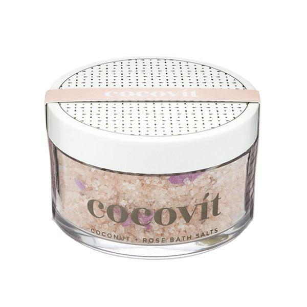 Cocovit Coconut + Rose Bath Salts 7oz