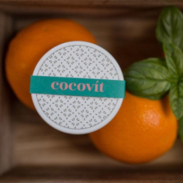Cocovit Orange + Basil Natural Lip Balm