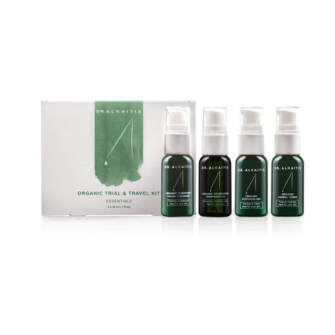 Organic Skin Care Travel Kit