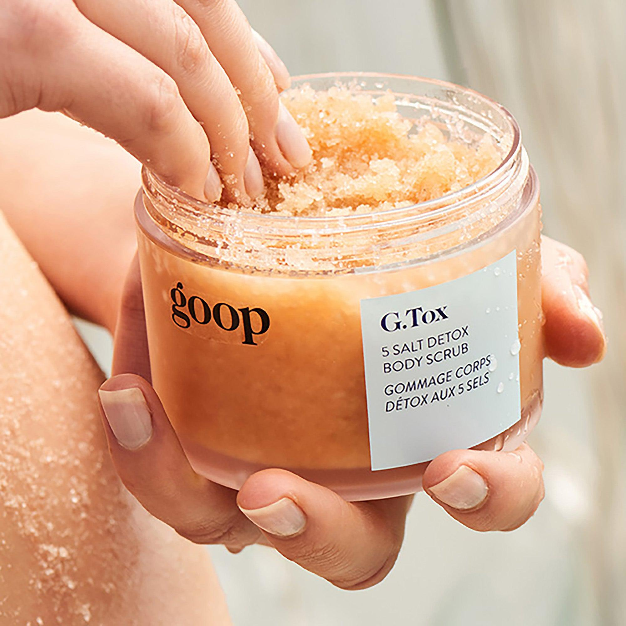G.Tox 5 Salt Detox Body Scrub