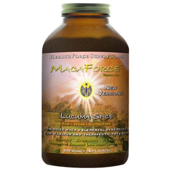 Health Force MacaForce Lucuma Spice Maca Powder 400mg