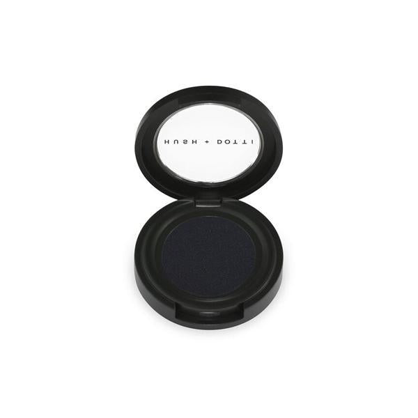 Hush and Dotti Organic Eyeshadow Edie (A dark shimmering black shadow.) 25g