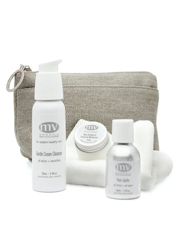 MV Skincare Travel Essentials for Hypersensitivity