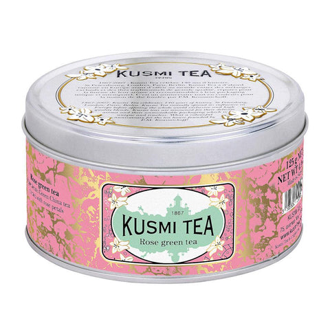 Rose Green Tea Tin