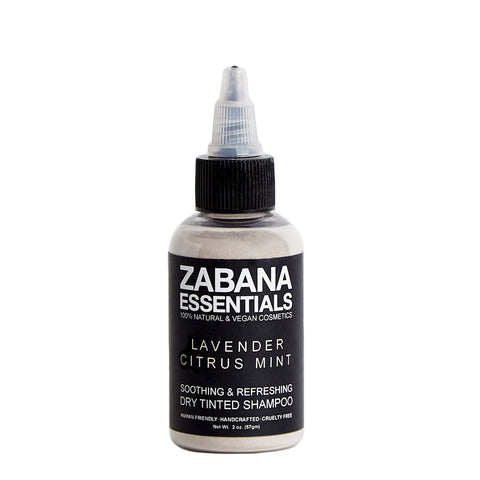 Zabana Essentials Dry Tinted Shampoo Lavender Citrus Mint Light-Medium