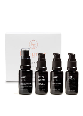 Mini Kit with Rose Hydrating Spray