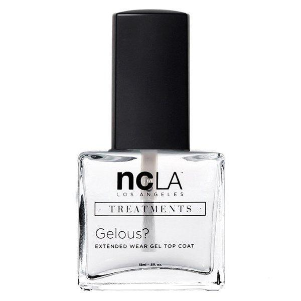 NCLA Gelous 5-Free Gel-Like Top Coat Nail Polish