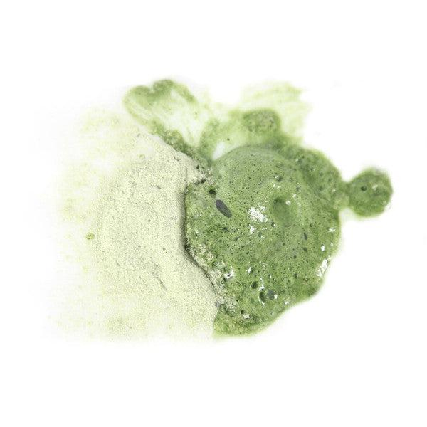Odacite Green Ceremony Cleanser 150 ml Powder-to-Foam Swatch