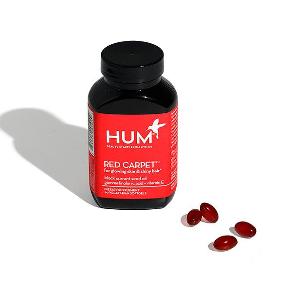 Red Carpet HUM Nutrition supplements softgels