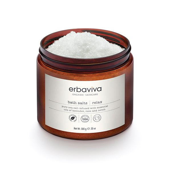 Relax Bath Salt 20 oz Erbaviva