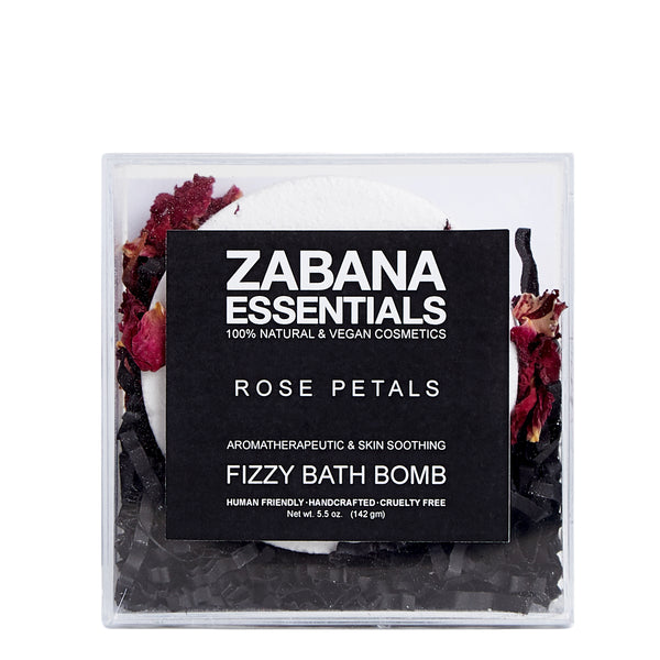 Zabana Essentials Fizzy Bath Bomb Rose Petals