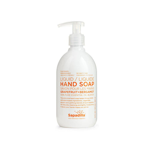 Sapadilla Hand Soap in Grapefruit & Bergamot