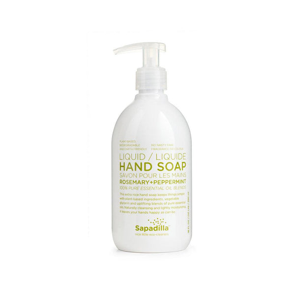 Sapadilla Hand Soap in Rosemary & Peppermint