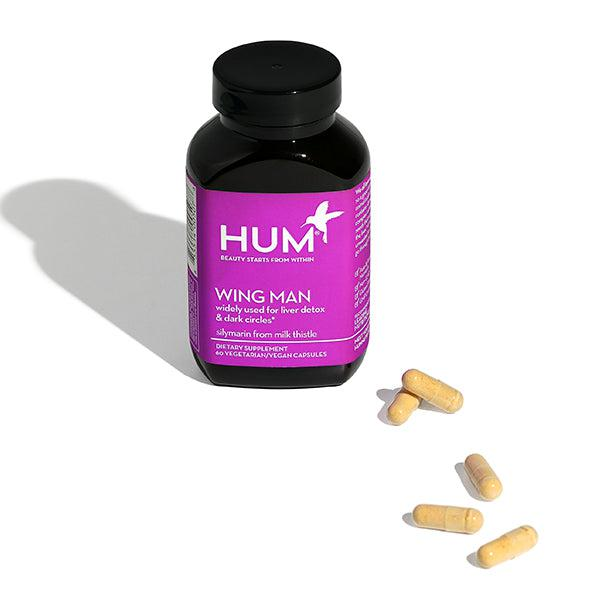 HUM Nutrition Wing Man 60 Vegan Capsules