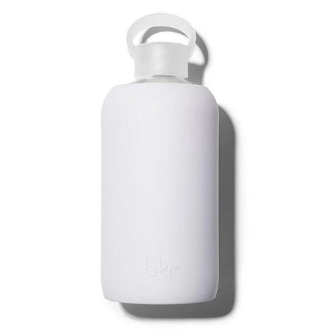 bkr 1L Glass Water Bottle Boo (Opaque Very Light Lavender)