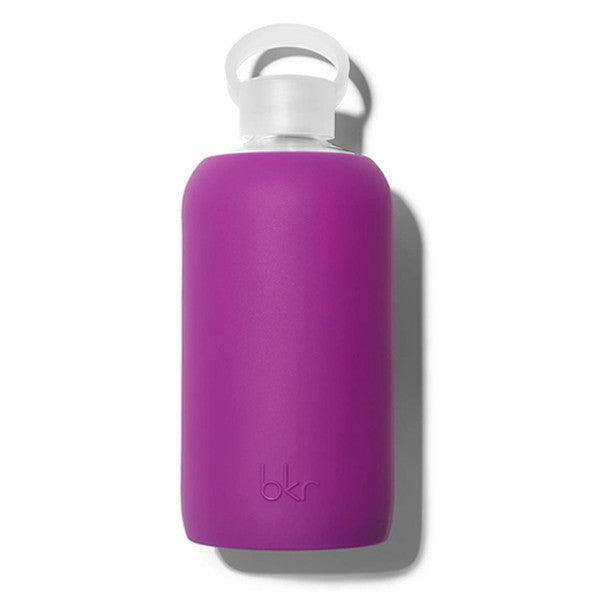 bkr 1L Glass Water Bottle Lola (Opaque Fuchsia)