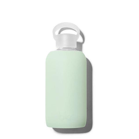 bkr 500mL Glass Water Bottle Detox (Sheer Dusty Mint)