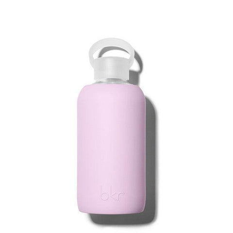 bkr 500mL Glass Water Bottle Juliet (Opaque Lavender)