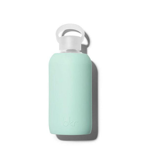 bkr 500mL Glass Water Bottle Lou (Opaque Mint Green)