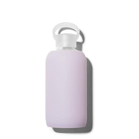 bkr 500mL Glass Water Bottle Tiptoe (Sheer Dusty Lavender)