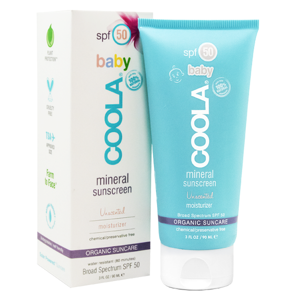 Coola Baby SPF 50 Unscented Sunscreen