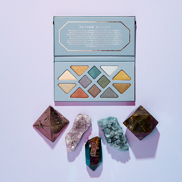 Crystal Grid Gemstone Palette