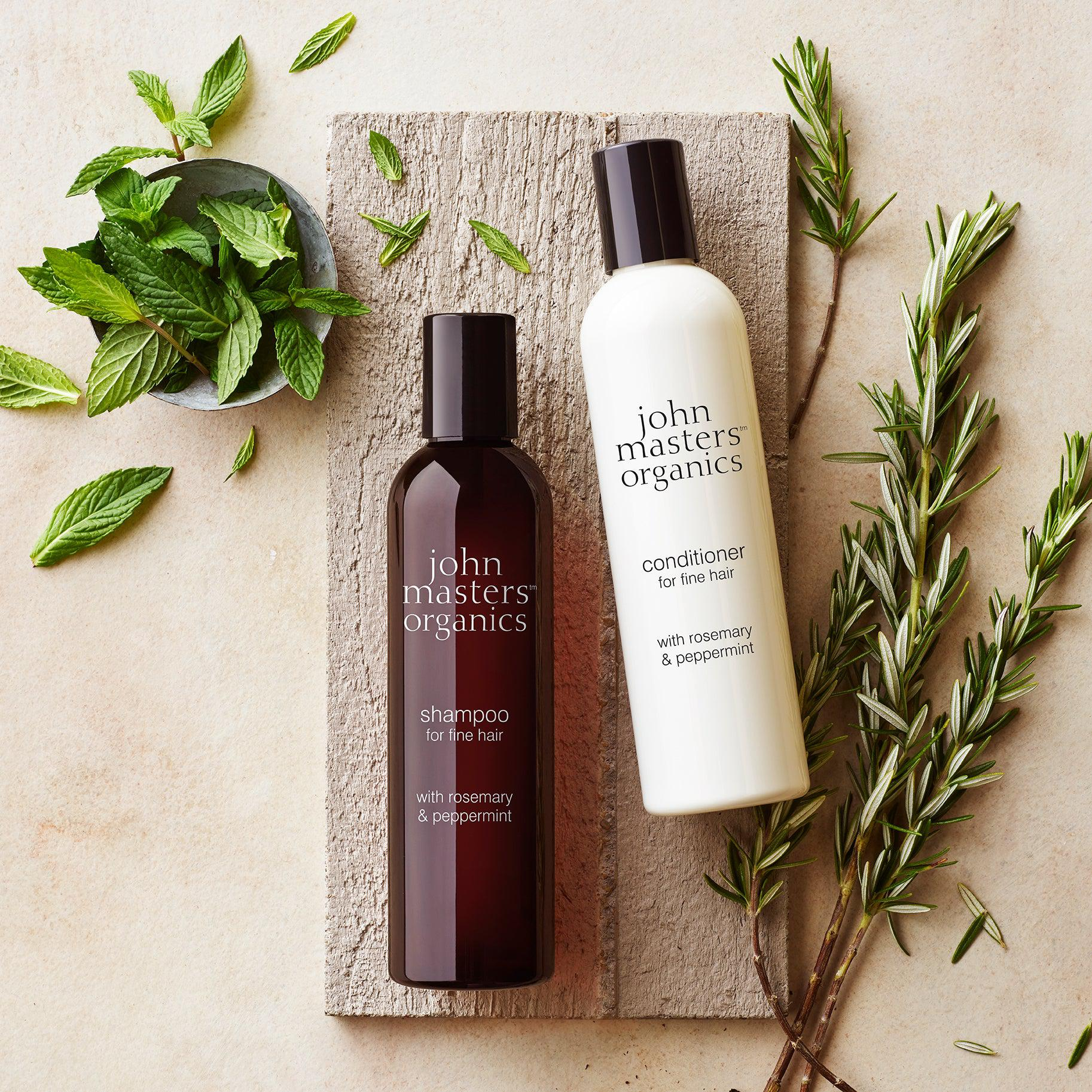 Conditioner for Fine Hair - Rosemary & Peppermint