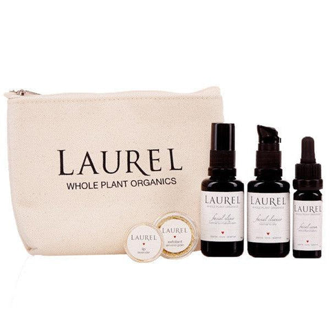 Laurel Whole Plant Organics Normal, Dry and Mature Travel Set